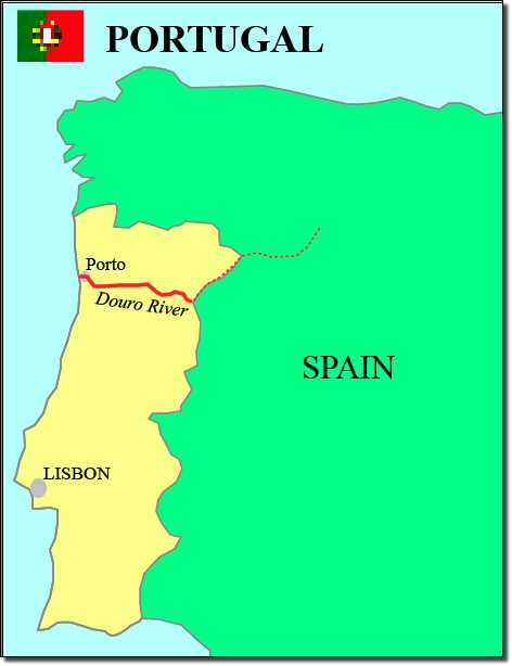 Portugal waterways map on spain and france map, spain fly fishing trout, spain map with cities,